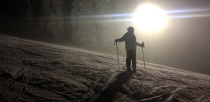 Night Skiing at Silver Star