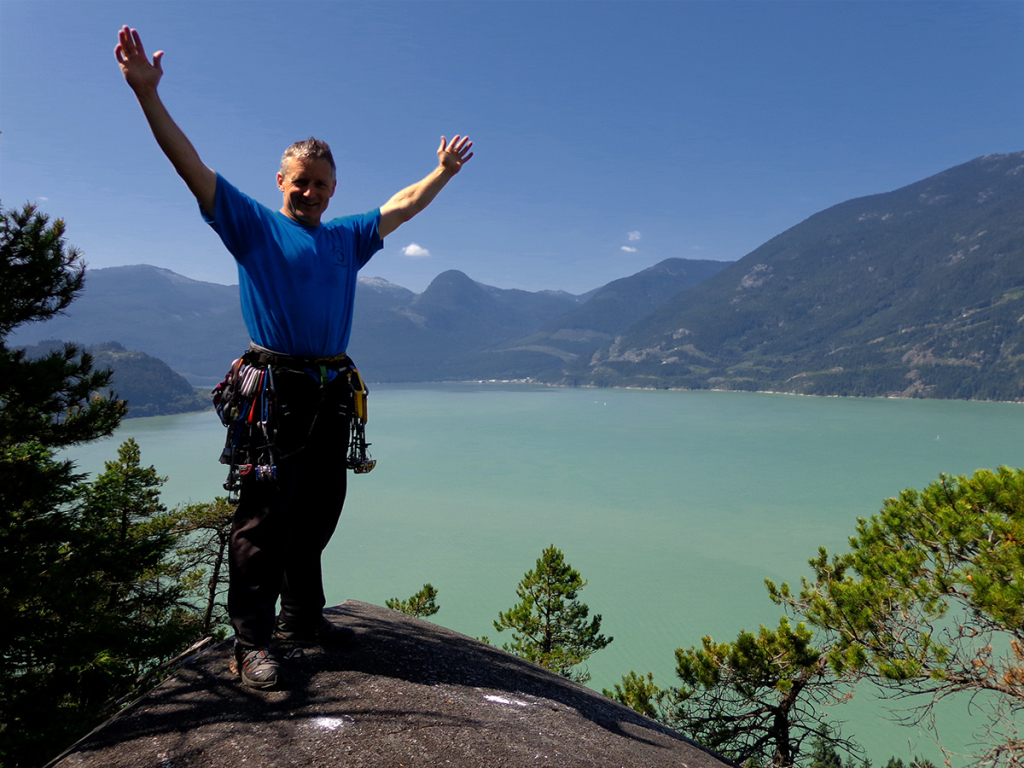 Kev Summits Squamish