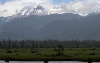 Garibaldi Mountain from Squamish