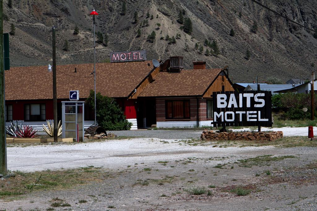 Baits Motel in Spences Bridge