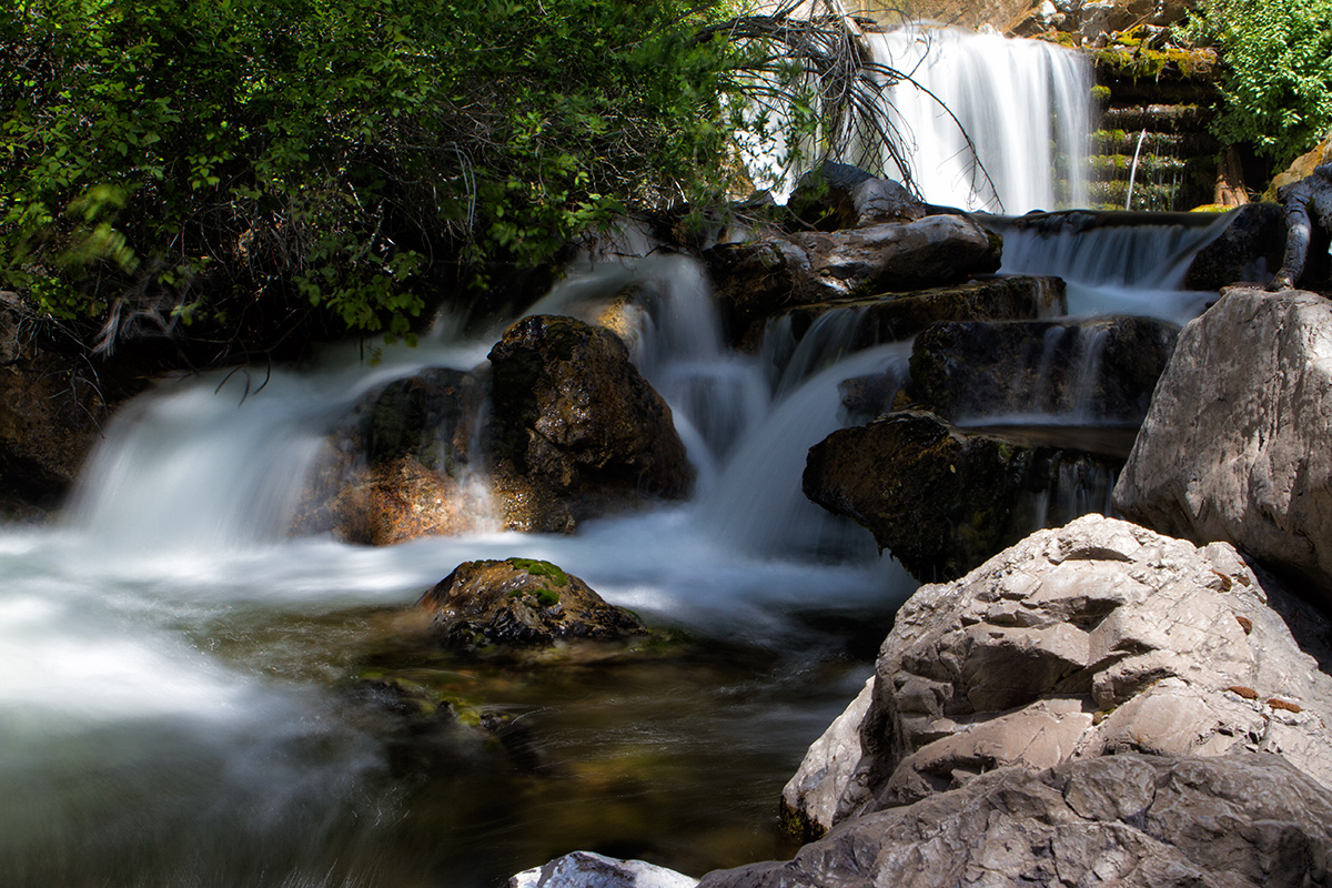 Murray Creek Falls in SW Canada